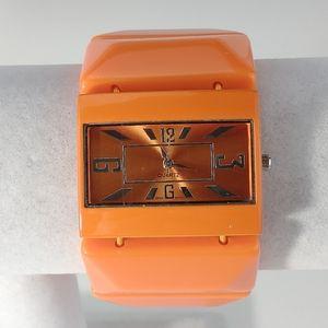 Ladies Orange Fashion Watch
